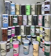 EMBOSSING POWDER 44 bottle gift LOT sale ~Powders~Scrapbooking~Stamping~Glitter