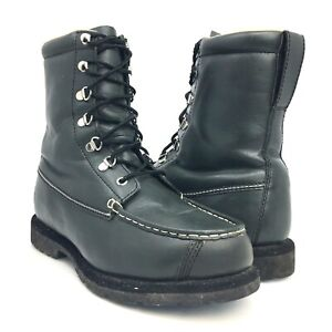CABELAS 81-2111 Green Leather Winter Hunting Boots THINSULATE ULTRA Size 8 EE