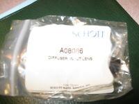 NEW Schott Input Lens Diffuser Fiber Optic   pn#- A08086