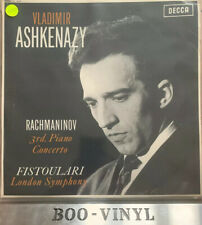 vladimir ashkenazy -rachmaninov 3rd Piano Concerto London Symphony SXL6057 Ex