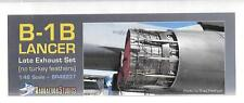 Barracuda Studios B-1B Lancer Late Exhaust  Upgrade 1/48 237 For Revell Kit ST