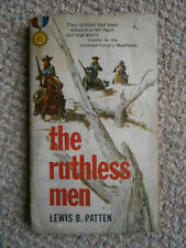 The Ruthless Men by Lewis B. Patten Paperback Book 1960
