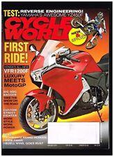 CYCLE WORLD JANUARY 2010 BMW F800R KTM 150 XC YAMAHA YZ450F DEL AMO DUCATI