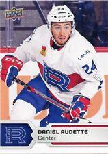 17/18 UPPER DECK AHL #20 DANIEL AUDETTE LAVAL ROCKET *47768