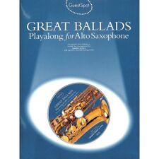 Great Ballads - Playalong for Alto Saxophone - Altsaxophon Noten [Musiknoten]