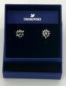 SWAROVSKI FANTASTIC PIERCED EARRINGS DB GRAY DMUL/RHS 5230607