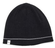 New Mens Alfani Black Reflective Beanie Hat Skull Cap One Size