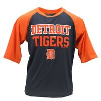 Detroit Tigers Official MLB Genuine Kids Youth Size Athletic T-Shirt New Tags