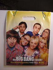 "Supergirl/ Big Bang Theory Plastic Bag - Approx. 15"" x 12"" - used"