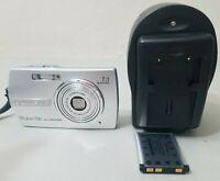 Olympus Stylus 700 7.1 MP ALL-WEATHER Digital Camera - Silver *VERY GOOD*