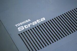 "TOSHIBA STRATA CIX40 SYSTEM CHSU40A3 4X8X1 WITH ""ONE YEAR WARRANTY"""