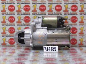 2002 SATURN L100 2.2L ENGINE STARTER MOTOR 89017756 OEM