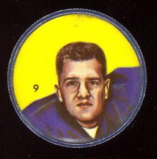 1963 CFL NALLEY'S POTATO FOOTBALL COIN #9 WALT RADZICK EX-NM Toronto Argonauts