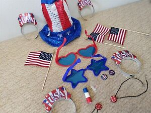 USA Election Independence Day - Costume Party Lot Bundle - 4th July USA America