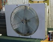 Mid Century Emerson Curved Box Fan - Industrial, Restored, Purrs!