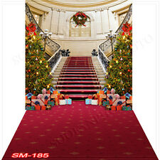 Christmas 10'x20'Computer/Digital Vinyl Scenic Photo Backdrop Background SM-185B