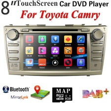 For Toyota Camry 2007-2011 Car GPS Sat Stereo Radio DVD Player Bluetooth USB SWC
