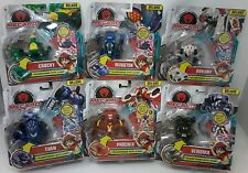 Mecard Action Battle Game! Deluxe Transforming Figures (Set of 6)