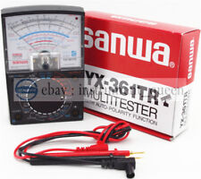 Analog Analogue Multitester Multimeter Wide measurement range SANWA YX-361TR