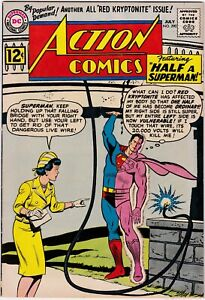 Action Comics #290 9.0 VF/NM- 1961 DC Superman Lois Lane RED Kryptonite L@@K!