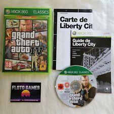 Jeu GTA 4 Grand Theft Auto IV pour XBOX 360 Complet CIB PAL FR - Floto Games