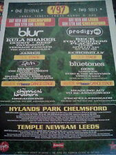 V97 Festival Advert to frame? Blur Prodigy Kula Dodgy Beck Placebo Gene James