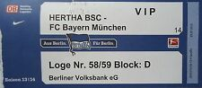 VIP TICKET 2013/14 Hertha BSC Berlin - Bayern München