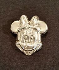 Vintage Mexico Sterling Silver 925 Disney Minnie Mouse Pendant Pin TF-20