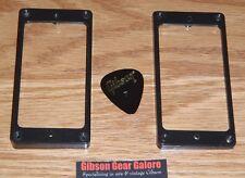 Gibson Les Paul Pickup Rings Humbucker Black Guitar Parts SG V HP ES R9 EDS R8 U