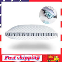 King Memory Foam Pillow for Sleeping Shredded Bed Bamboo Cooling Pillow
