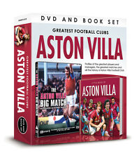 GREATEST FOOTBALL CLUBS ASTON VILLA BIG MATCH Birmingham '75 DVD & BOOK GIFT SET