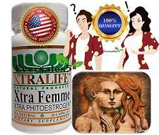 30 Female Hormone Phyto estrogen Pills capsules Transsexual man transgender NEW