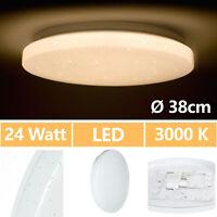 24W Lámpara De Techo LED Sternlicht Panel Salón Cocina