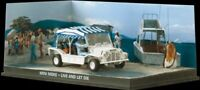 JAMES BOND 007 - MINI MOKE CAR - LIVE AND LET DIE - DIARAMA DISPLAY -  1:43