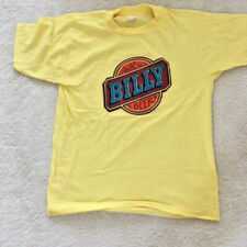 Vintage Billy Beer Tshirt 50/50 Poly/Cotton Size M Made in USA & Never Used!