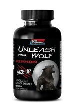 Testosterone Boost - Unleash Your Wolf 2170mg - Improves Bladder Function 1B