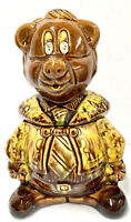 Vintage California Originals Mid Century Teddy Bear Cookie Jar USA 2648 EUC MCM