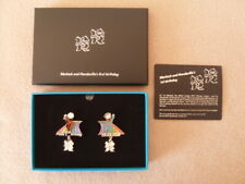 London 2012 Wenlock & Mandeville 1st Birthday Limited Edition Pin Badge Box Set