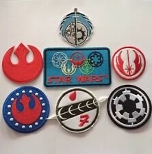 Star Wars Alliance Embroidered Patches Iron On Appliqué - 7pcs