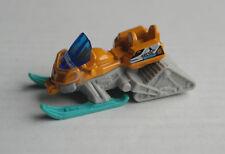 Matchbox Snow Ripper Schneemobil orange/hellgrau/türkis Snowmobile MBX Mattel