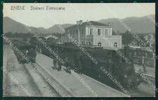 Vicenza Thiene Stazione Treno cartolina QT2663