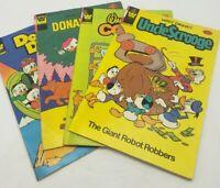 Walt Disney's Donald Duck Comics Lot of 4 Whitman Uncle Scrooge