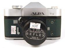 EX++ Alpa 11e in Green Film Camera w/Kern-Macro-Swtar 50mm f/1.9 AR lens kit