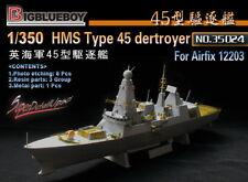 Bigblueboy PE 1/350 HMS Type 45 dertroyer(for airfix 12203) 35024