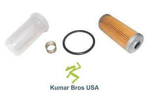New Kubota Fuel Filter/BOWL/Spring 16271-43560, 16271-43580, 16271-43930