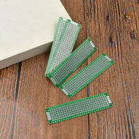 5Pcs Prototyping PCB Stripboard Pre-formed Circuit Board 2x8cm Universal 2 Sides