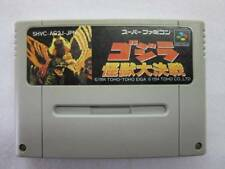 Godzilla: Kaijuu Daikessen Nintendo Super Famicom SNES SFC MONSTER BATTLE F/S