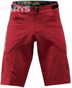 Shorts TroyLeeDesigns Skyline Race, red, size 30; 32; 38