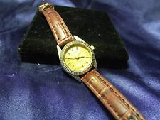 Woman's Geneva Watch with Gold Face **Nice** B48-1003