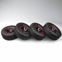 "4PCS 1.9"" 12mm Hex Rubber Tires & Wheels  For RC 1/10 Car Rock Crawler Truck"